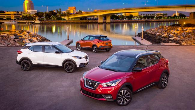 L A Auto Show 2017 Nissan Kicks Coming After Kia Soul Honda Cr