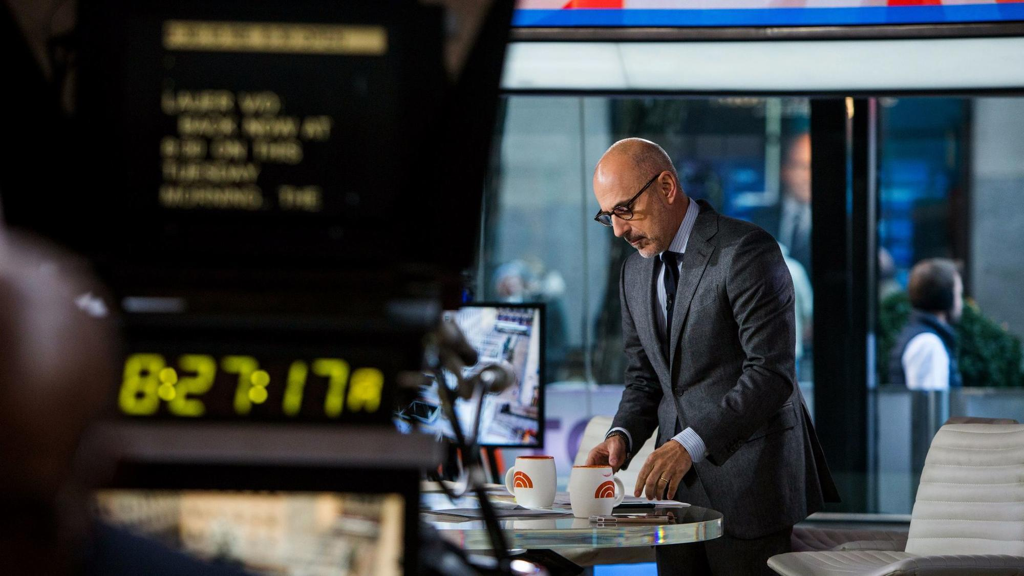 Matt lauer 39 s exit from 39 today 39 could hurt the show 39 s - Matt today show ...