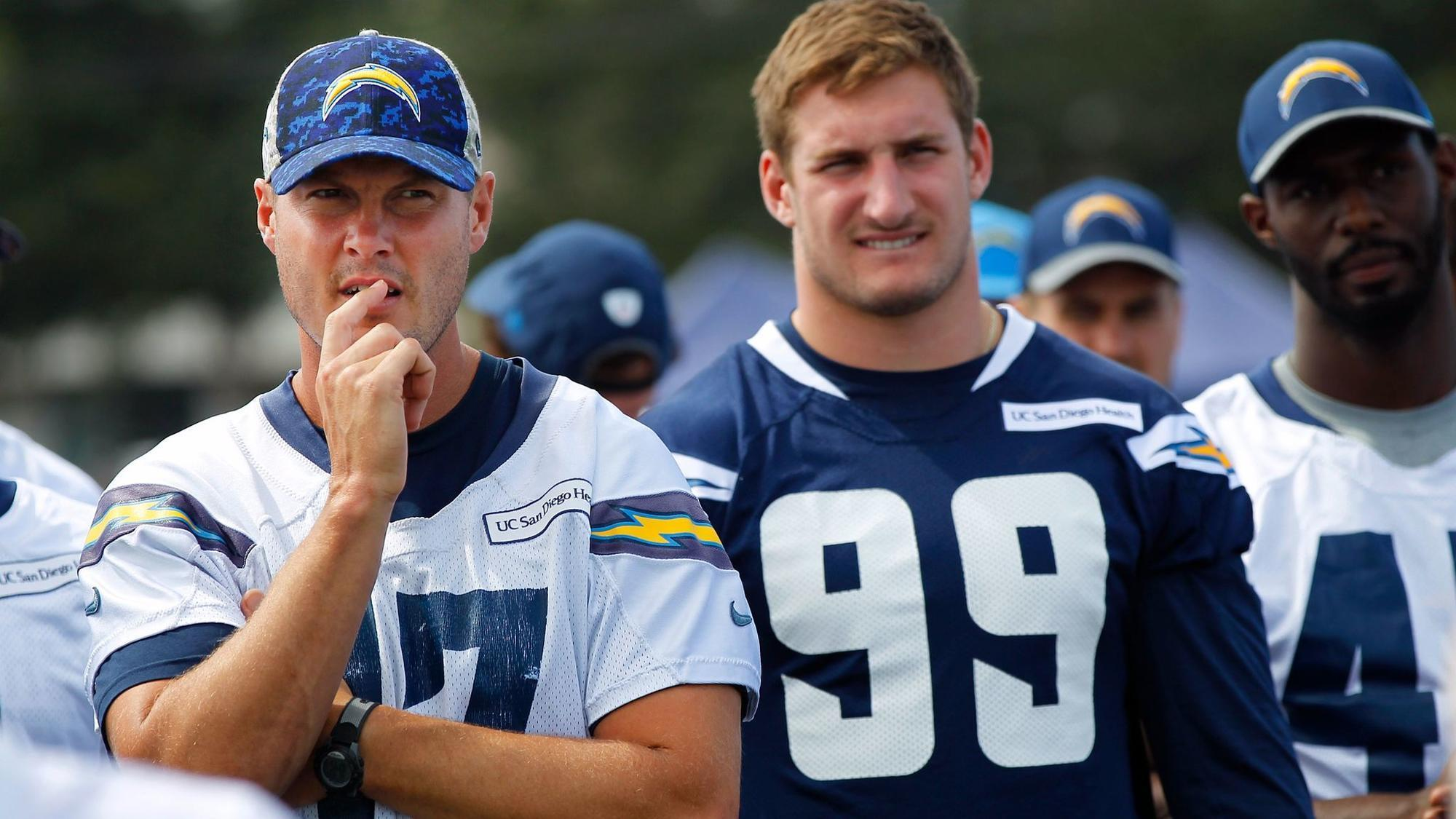 Like Tony Gwynn late in his career Philip Rivers is ting