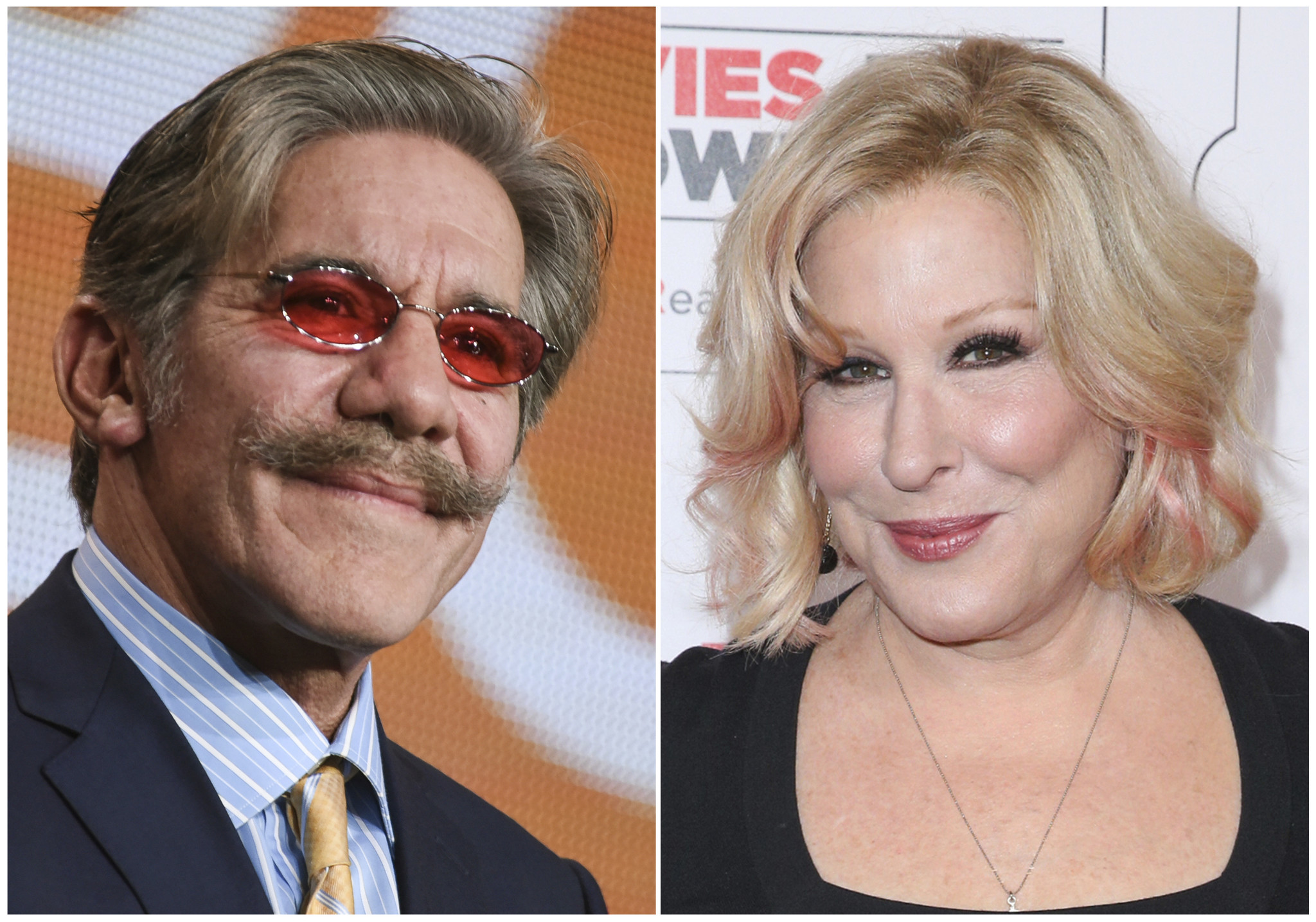 bette midler to geraldo rivera apologize for alleged