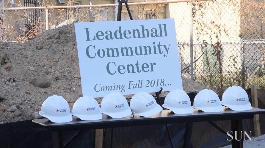 Groundbreaking for Sharp-Leadenhall neighborhood community Center