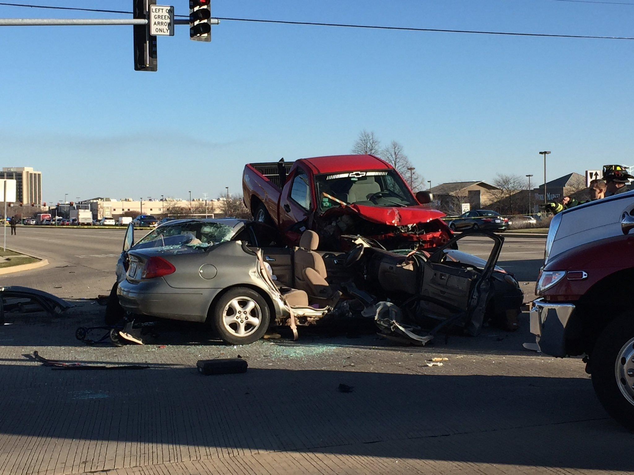 Downers Grove Car Accident Today