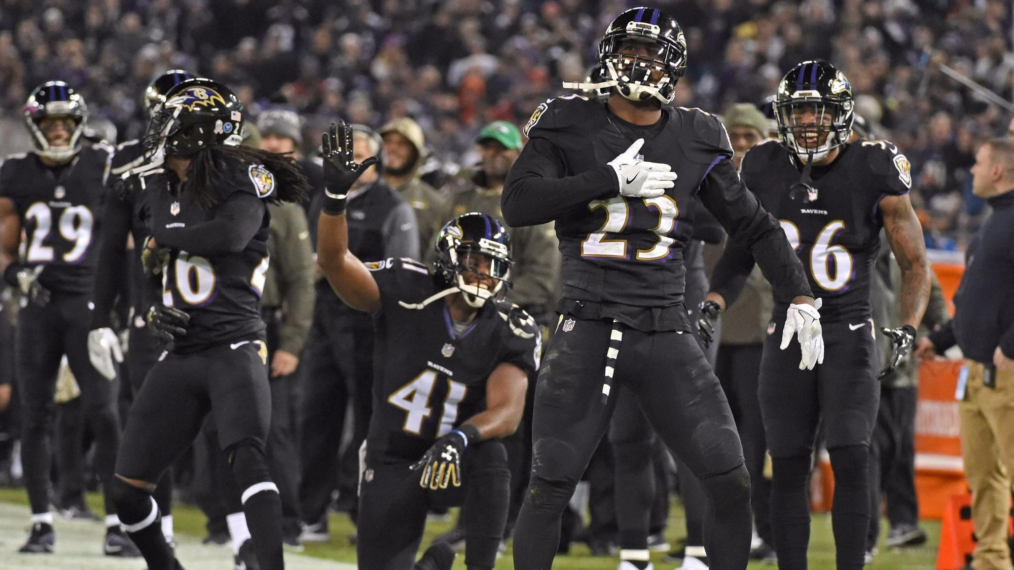 Image result for ravens defense