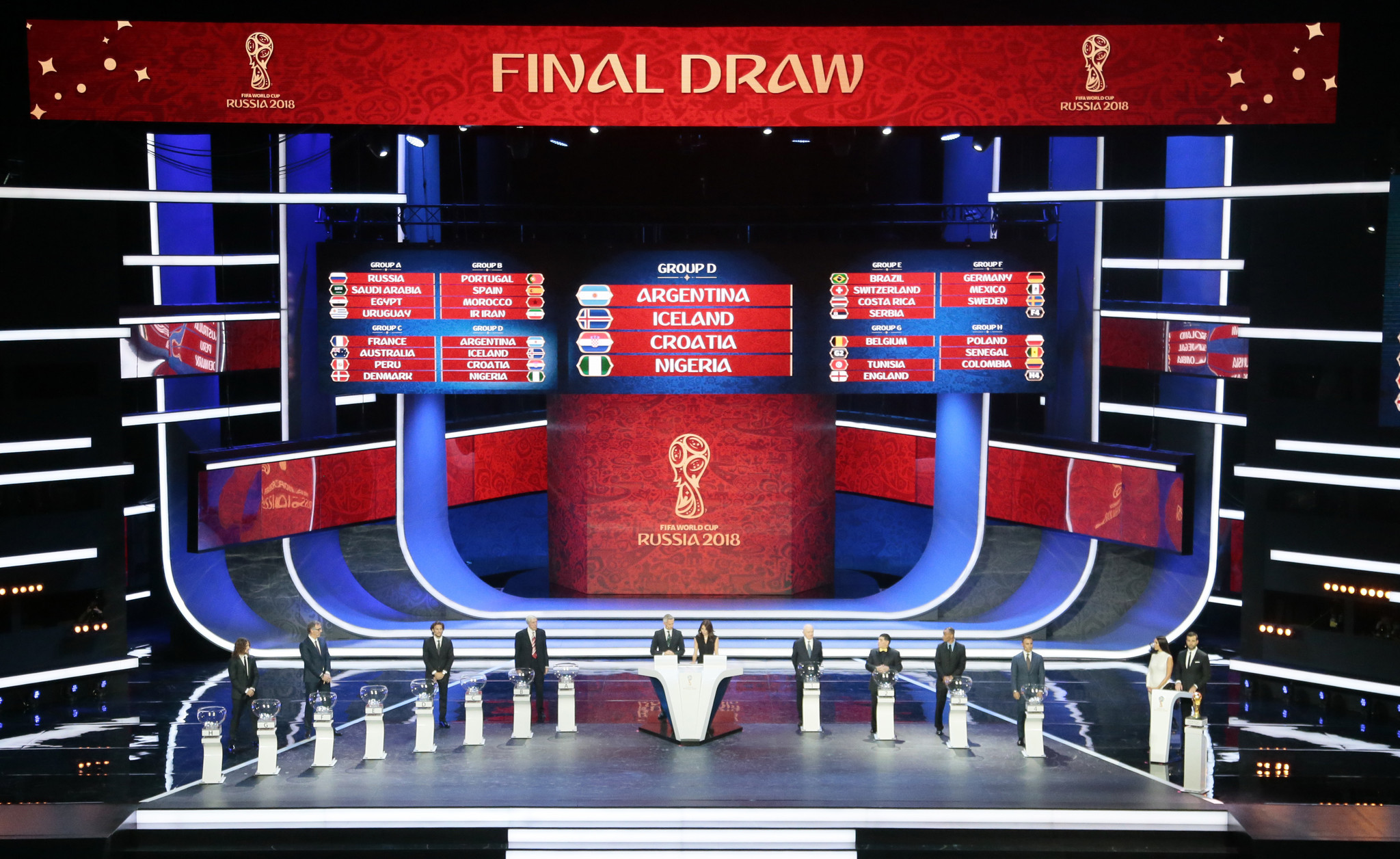 FIFA World Cup draw: Russia gets a soft landing and Mexico is in the Group of Death