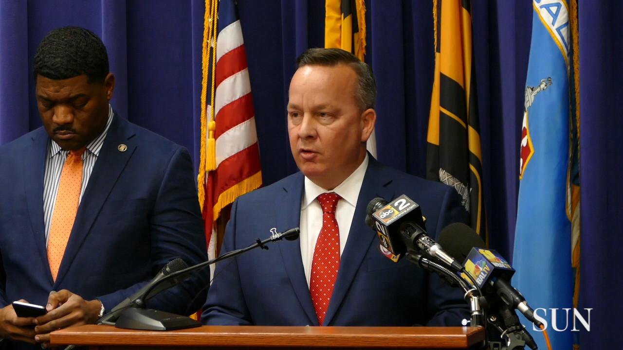 Baltimore police commissioner requests FBI take over investigation into killing of Det. Sean Suiter