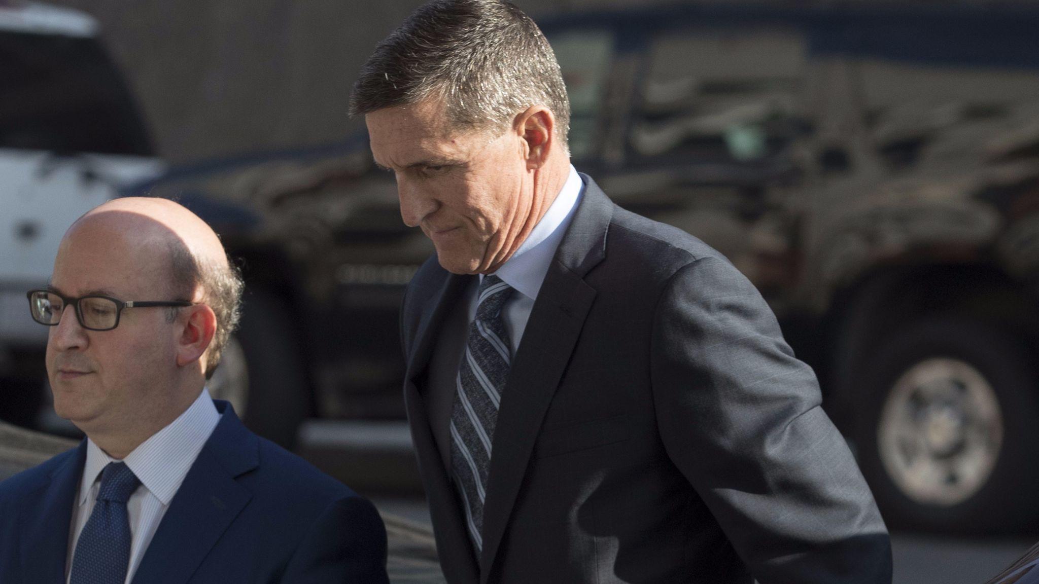 Former National Security Advisor Michael Flynn, Washington, USA - 01 Dec 2017