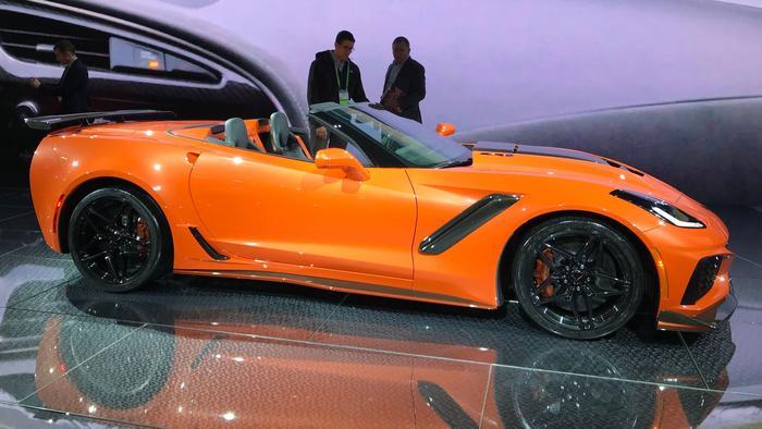 Corvette ZR-1 Convertible LA Auto Show