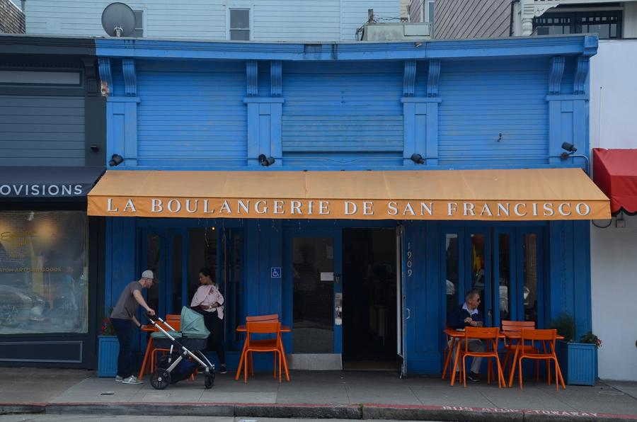 Boulangerie de San Francisco, 1909 Union St. (Christopher Reynolds/Los Angeles Times)