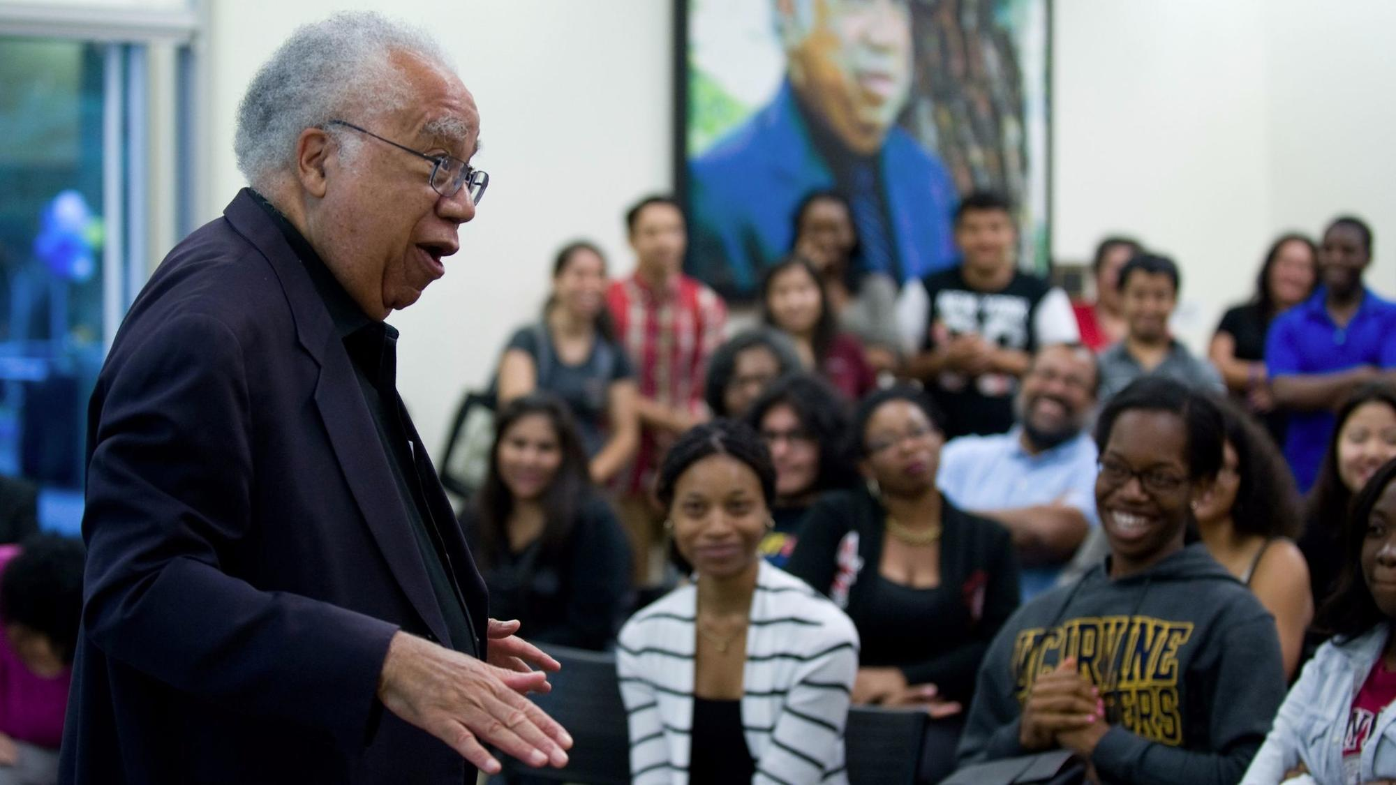 Joseph White, pioneering black psychologist who mentored students at UC Irvine, dies at 84