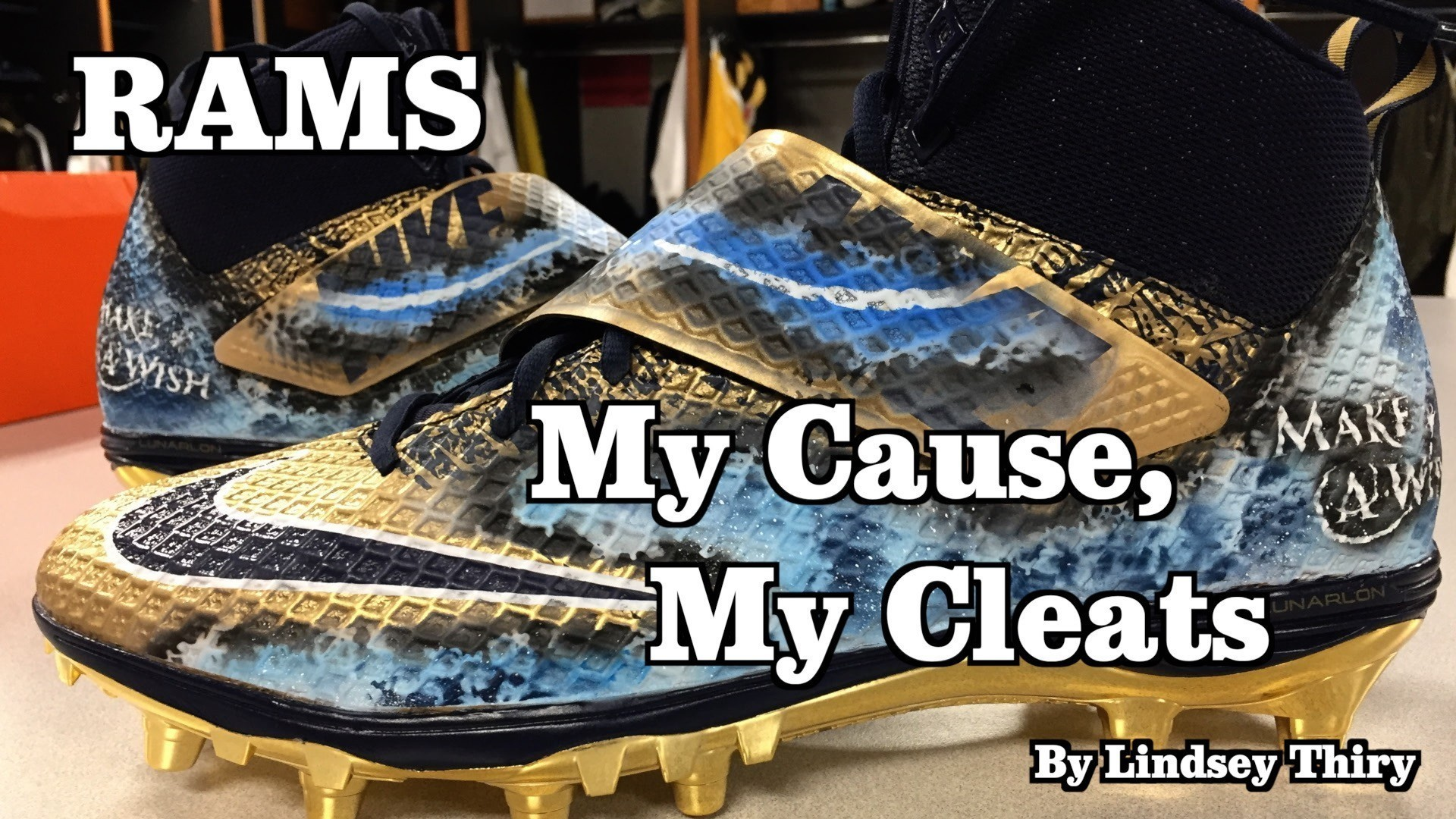 Rams players will wear custom cleats for NFL's 'My Cause, My Cleats' campaign