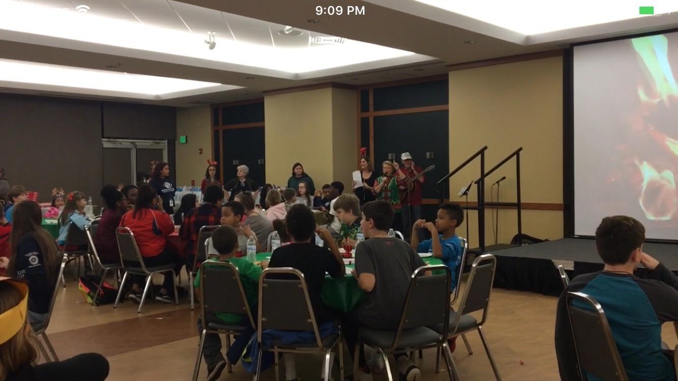 Boys & Girls Club celebrates holidays with annual McDaniel party