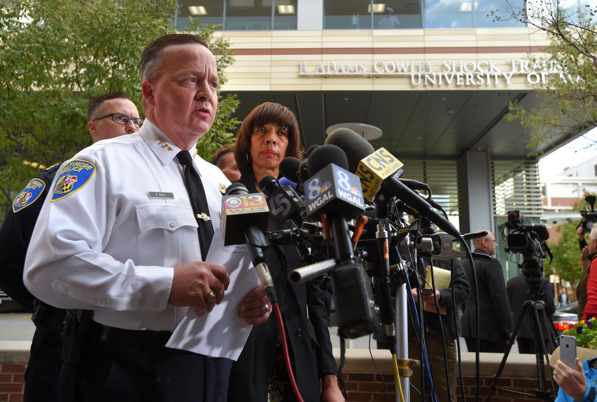Baltimore police commissioner asks FBI to take over investigation of Det. Sean Suiter's death