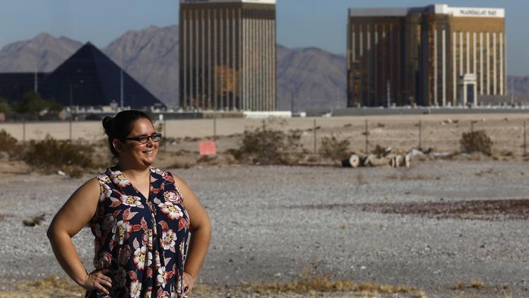 Cyndy Hernandez chose Las Vegas over California to save money on housing