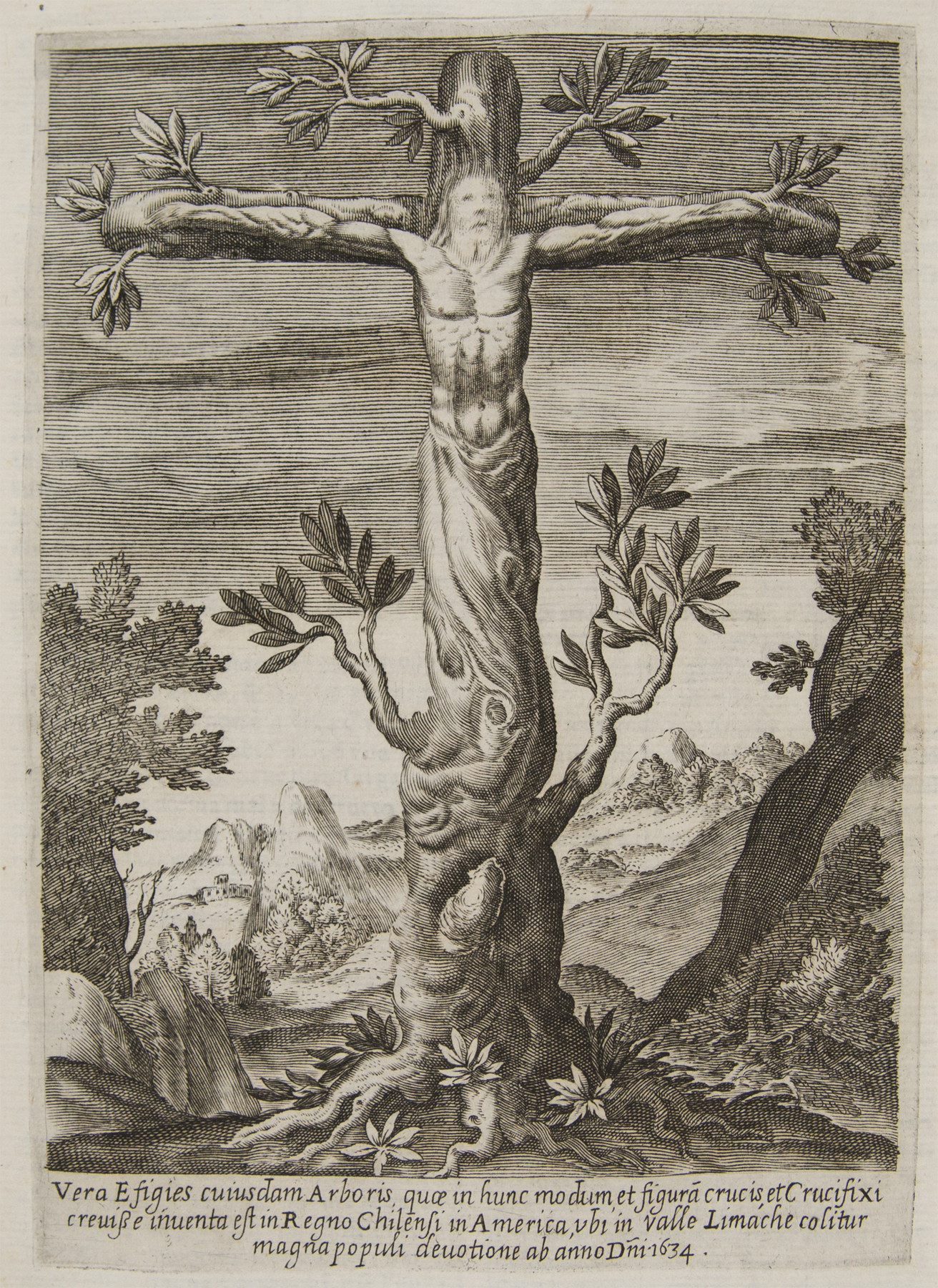 Alonso de Ovalle Crucifix tree