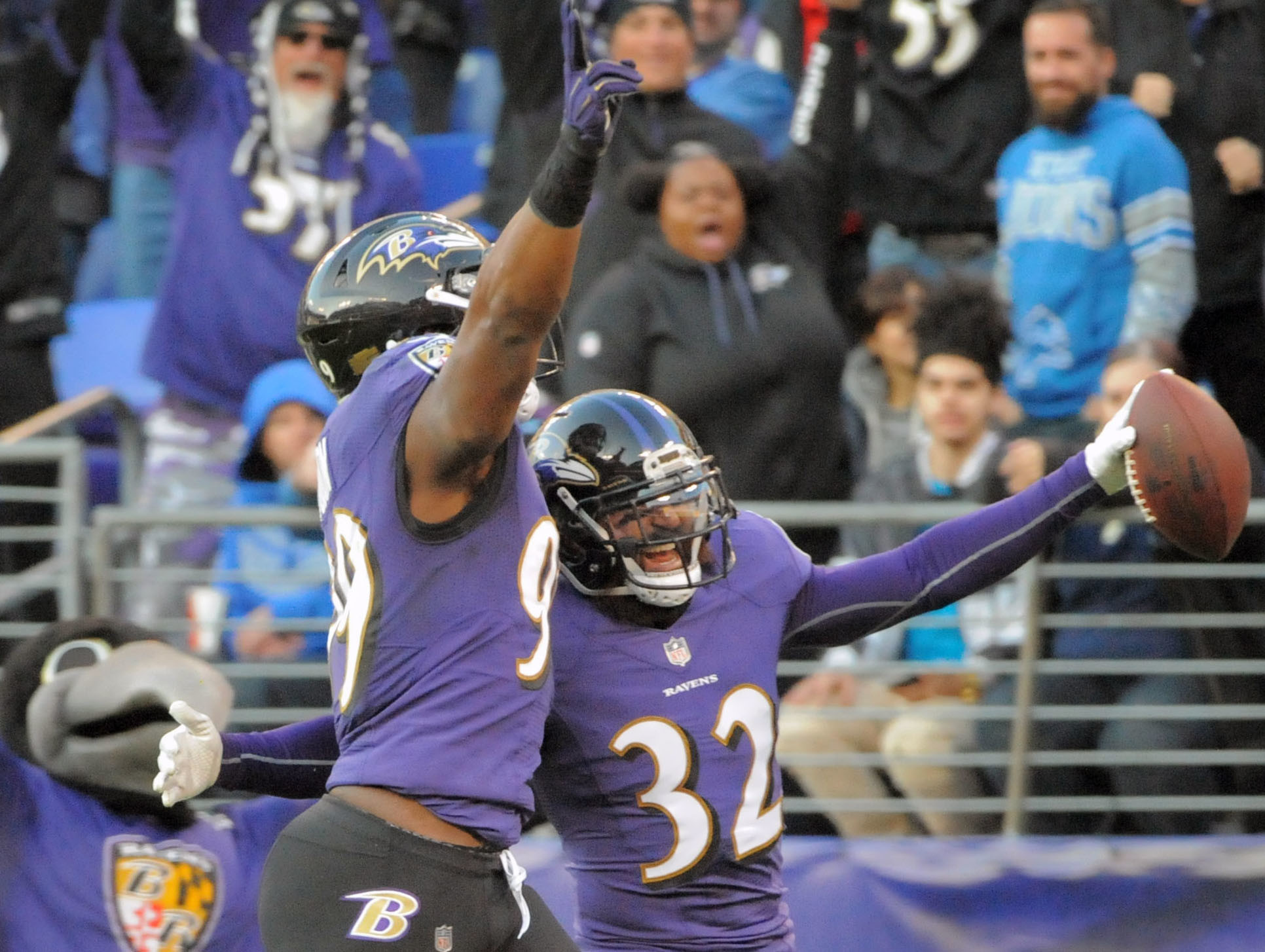 NFL Week 13: Ravens vs. Lions