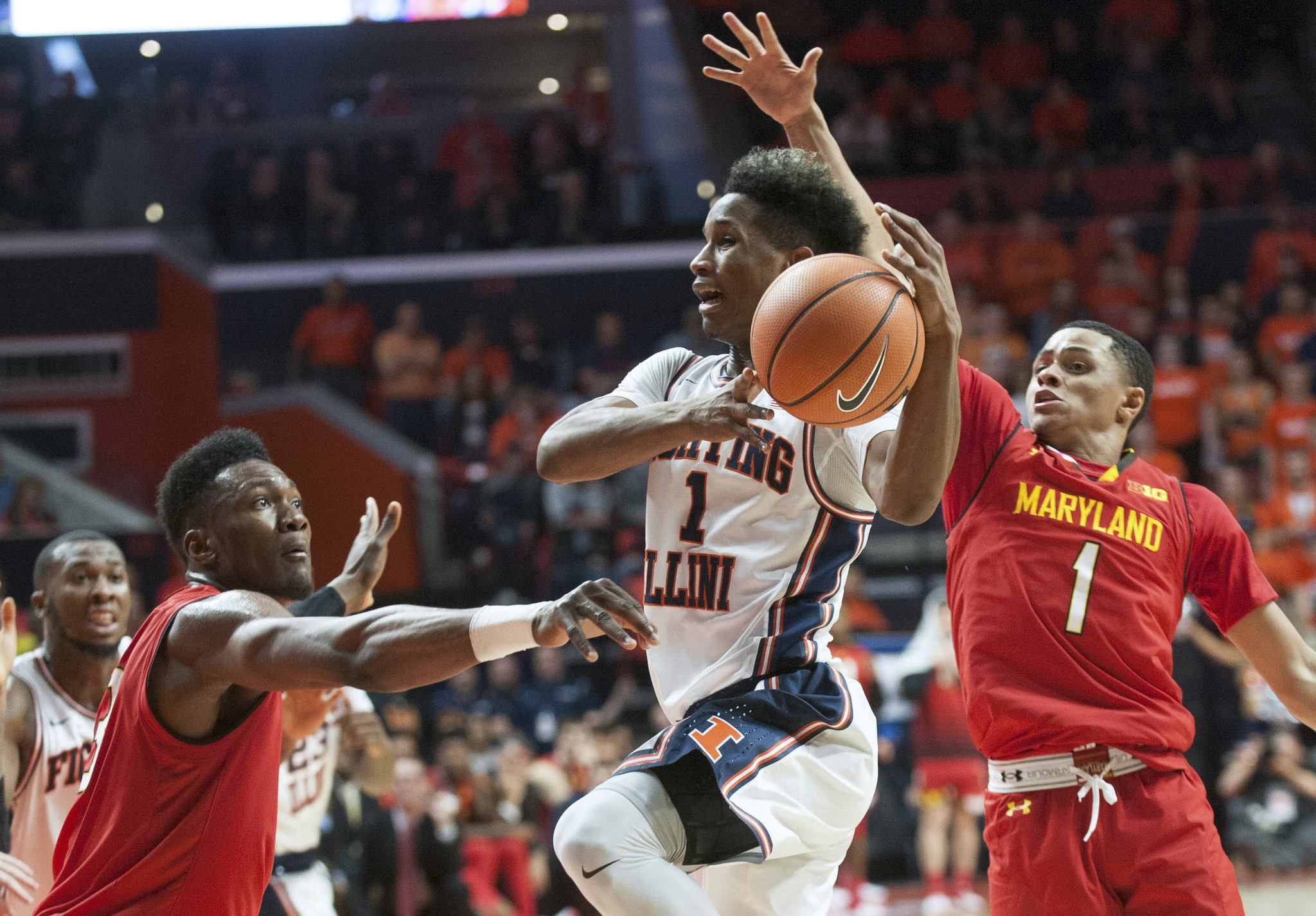 Illinois' crazy comeback ends in 92-91 overtime loss to Maryland