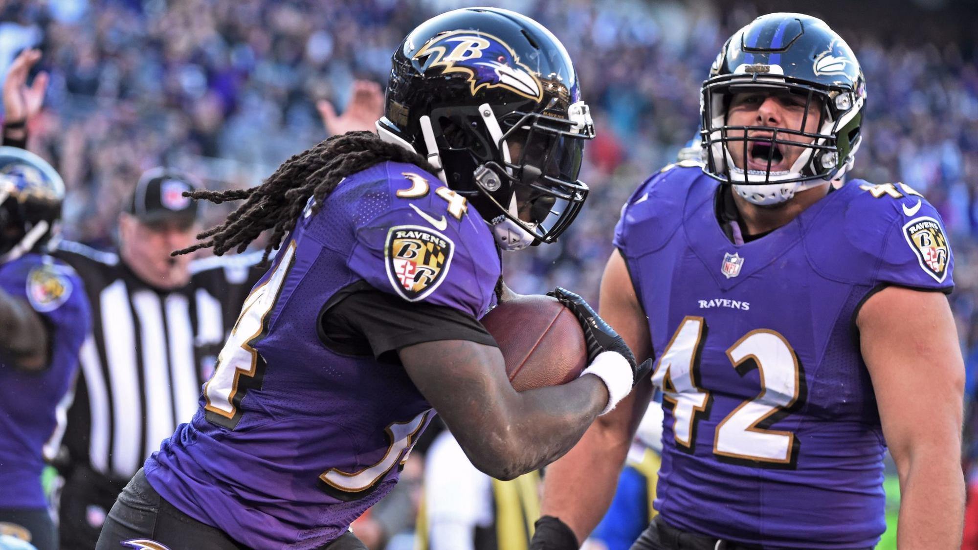 Offense puts together best outing of season, leads Ravens to key victory over Lions, 44-20