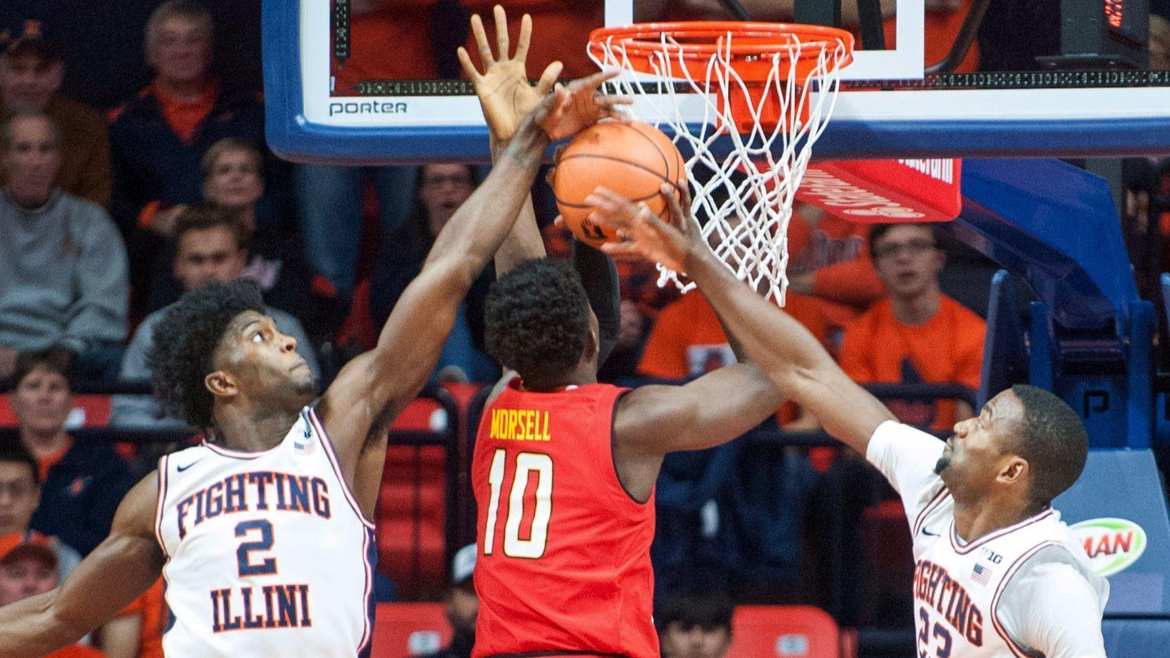 Maryland blows 22-point lead but beats Illinois, 92-91, on foul shot in final second of OT