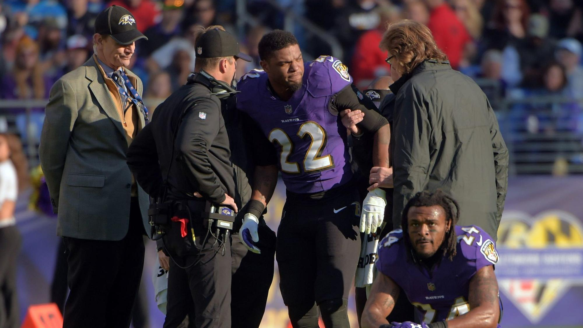 Ravens CB Jimmy Smith facing four-game suspension for violating PED policy, can serve it while injured
