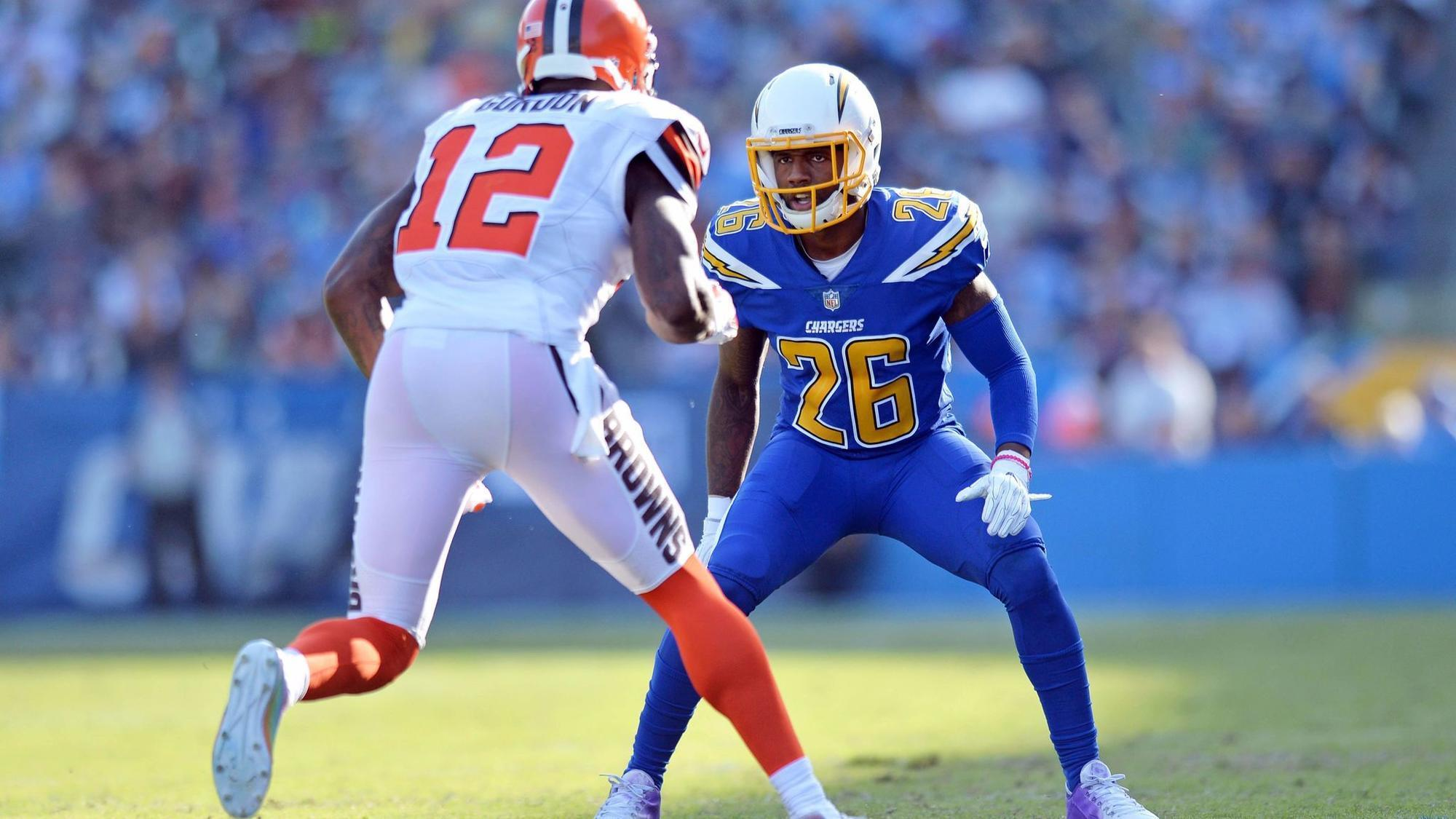 Chargers Hayward grateful to be back with brothers after tragic