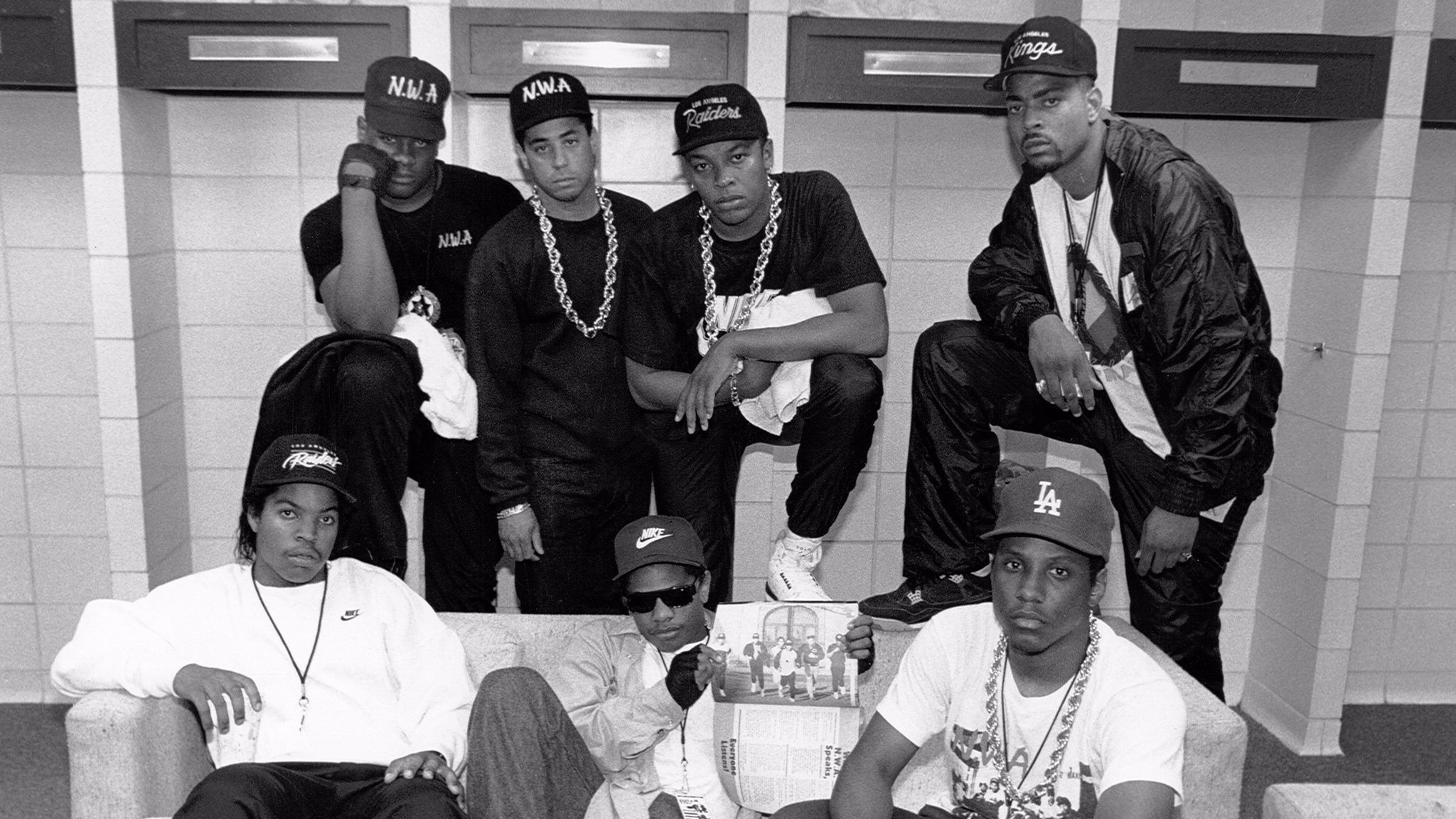 N.W.A. Backstage In KC