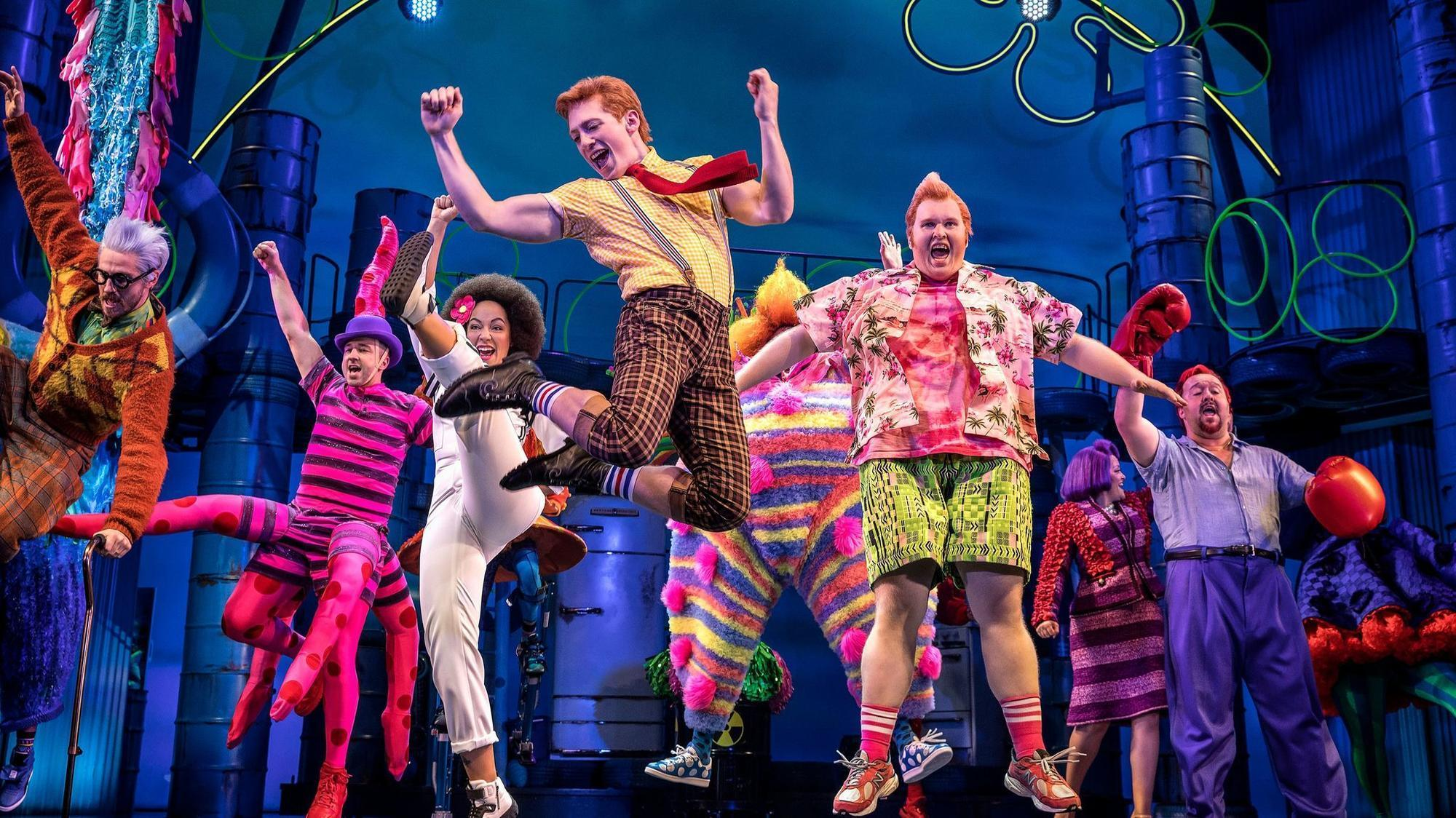 39 Spongebob Squarepants 39 Now Swims With The Broadway Sharks