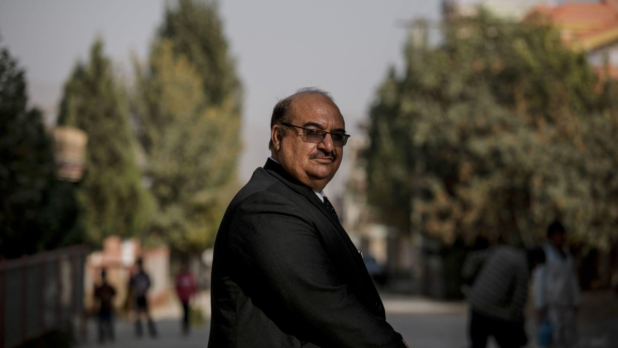 KABUL, KABUL PROVINCE — SUNDAY, OCTOBER 22, 2017: Col. Mohammad Nabi Majrooh, the deputy head of t
