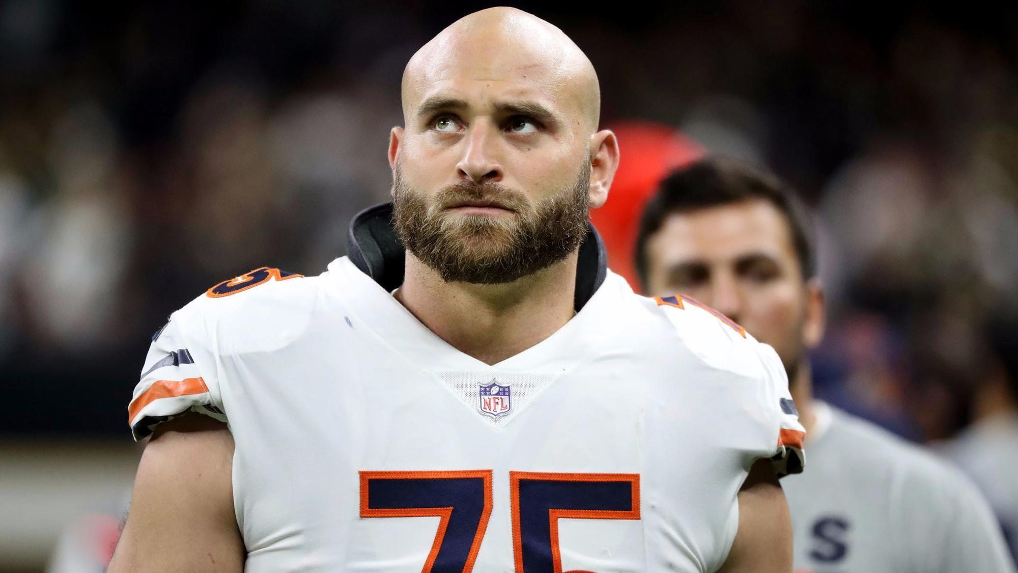 Bears place Kyle Long on injured reserve for second straight