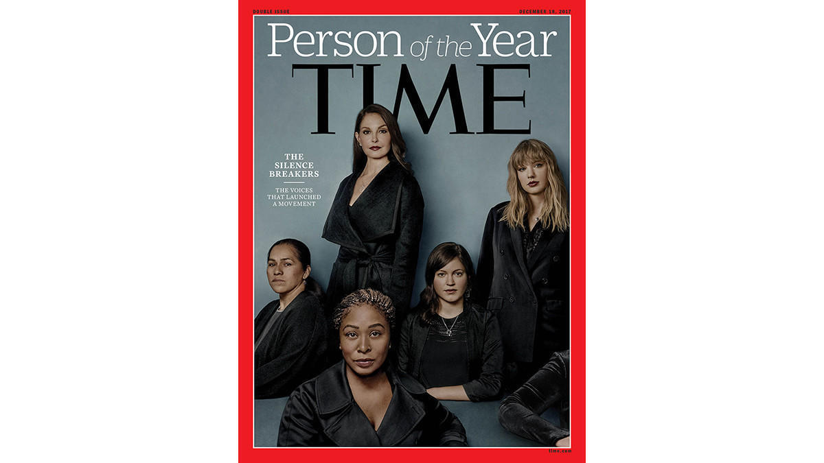 Time magazine names 'MeToo' movement the Person of the ...