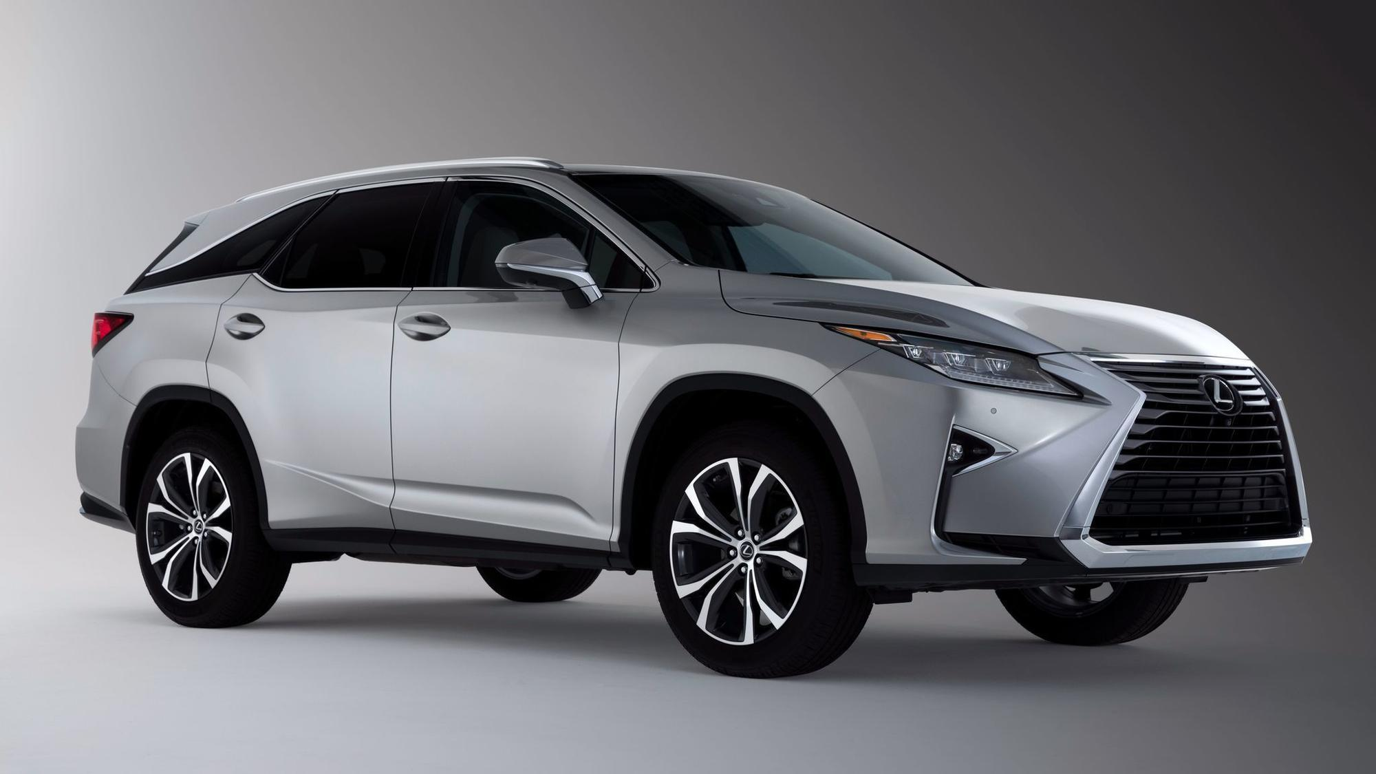 L A Auto Show 2017 Lexus rolls out 2018 RX and LX luxury SUVs