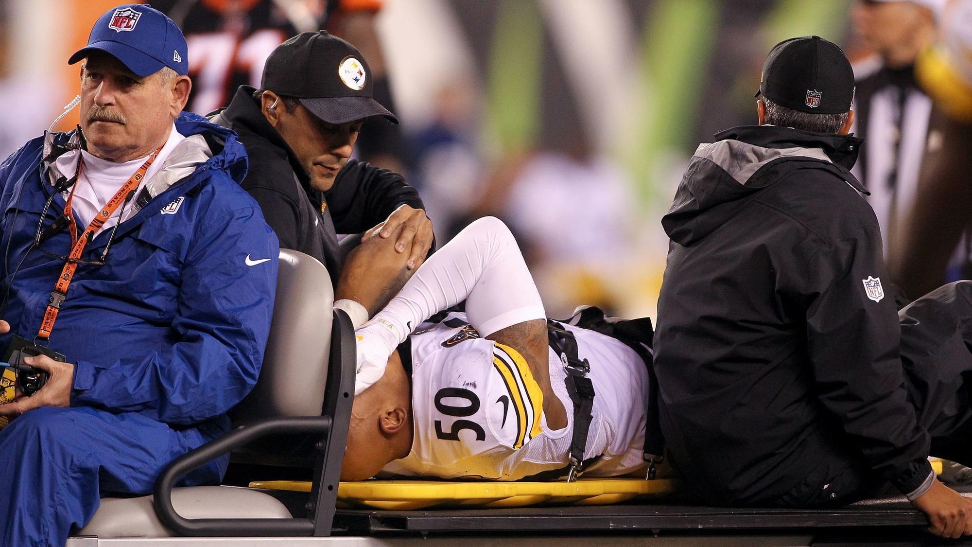 Ravens wish speedy recovery for Steelers linebacker Ryan Shazier