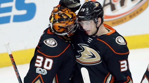 Ducks' Adam Henrique Makes A Splash In Home Debut Against The Senators