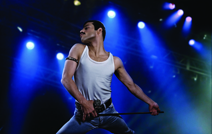 "Rami Malek stars as rock icon Freddie Mercury in the upcoming film ""Bohemian Rhapsody."" (Nick Delaney / 20th Century Fox)"