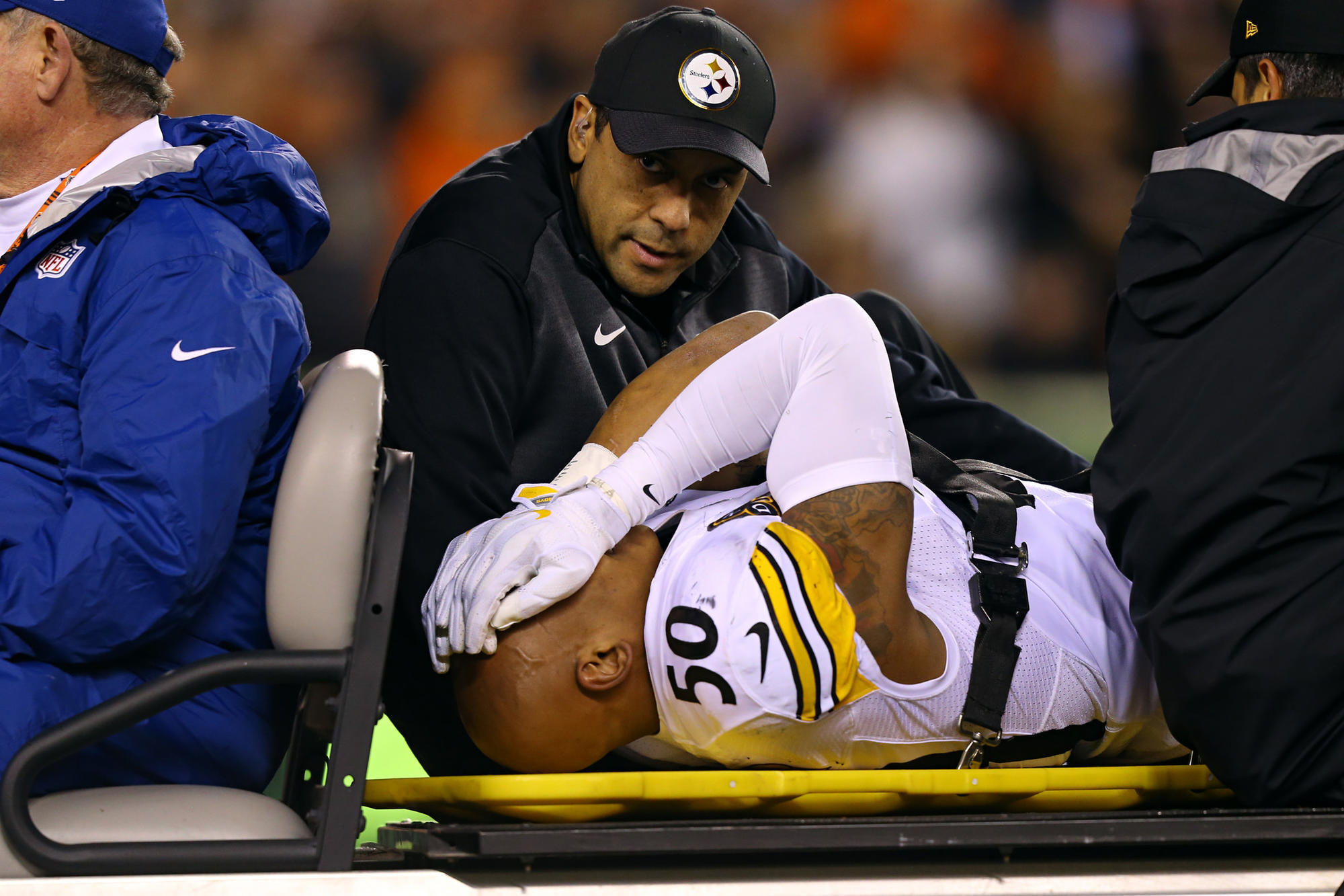 Lack of news on Ryan Shazier is disconcerting The San Diego