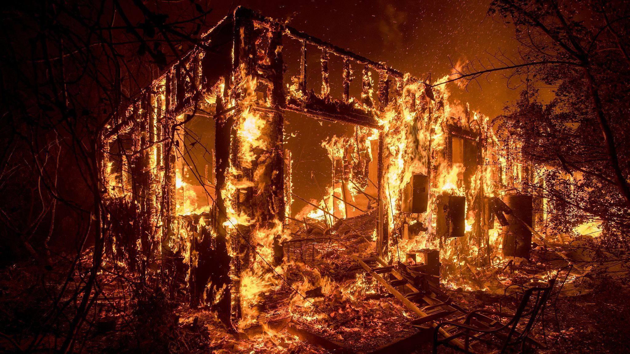 Why are Californias homes burning It isnt natural disaster its