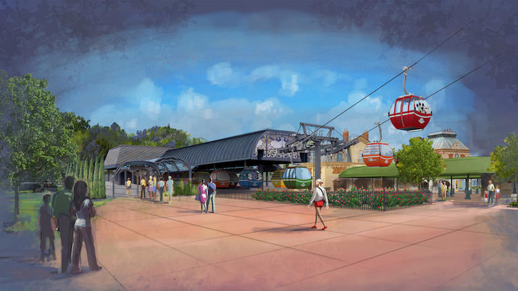 Pictures: Disney Skyliner