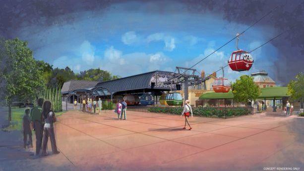 Disney releases new details on gondolas Orlando Sentinel