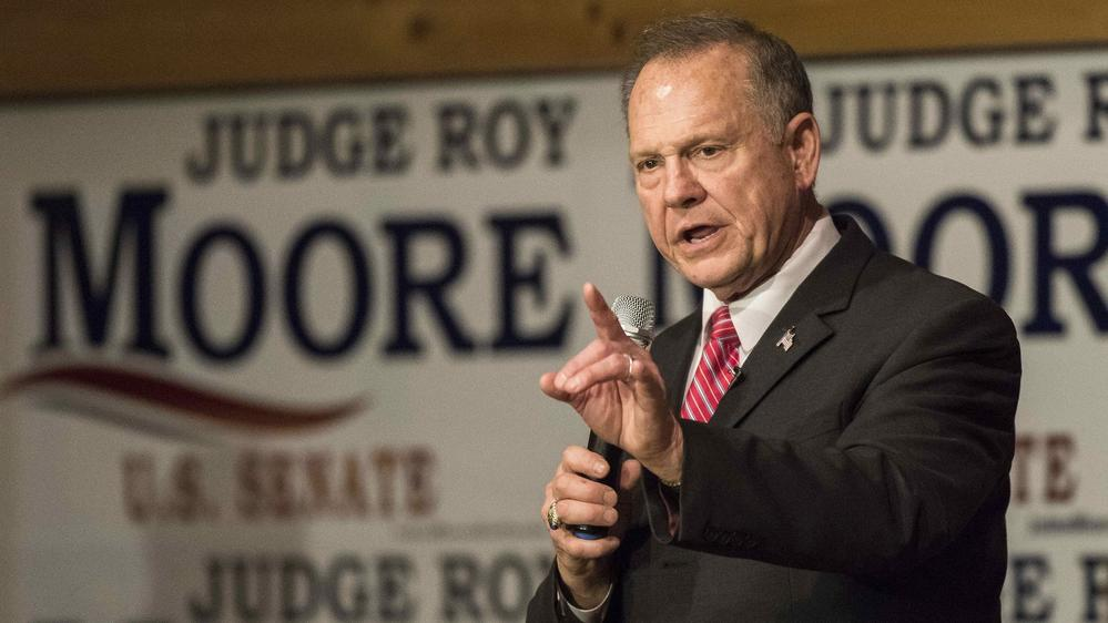Some Republicans say that even if Roy Moore holds Alabama's Senate seat, it will be a setback for the GOP. — Photograph: Dan Anderson/TNS.