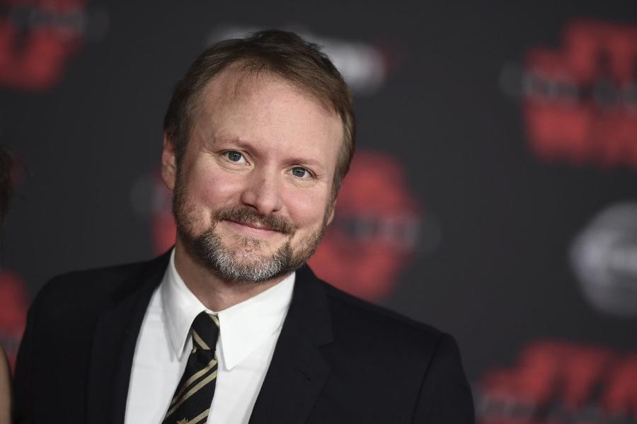 Director Rian Johnson at the premiere. (Jordan Strauss / Invision)