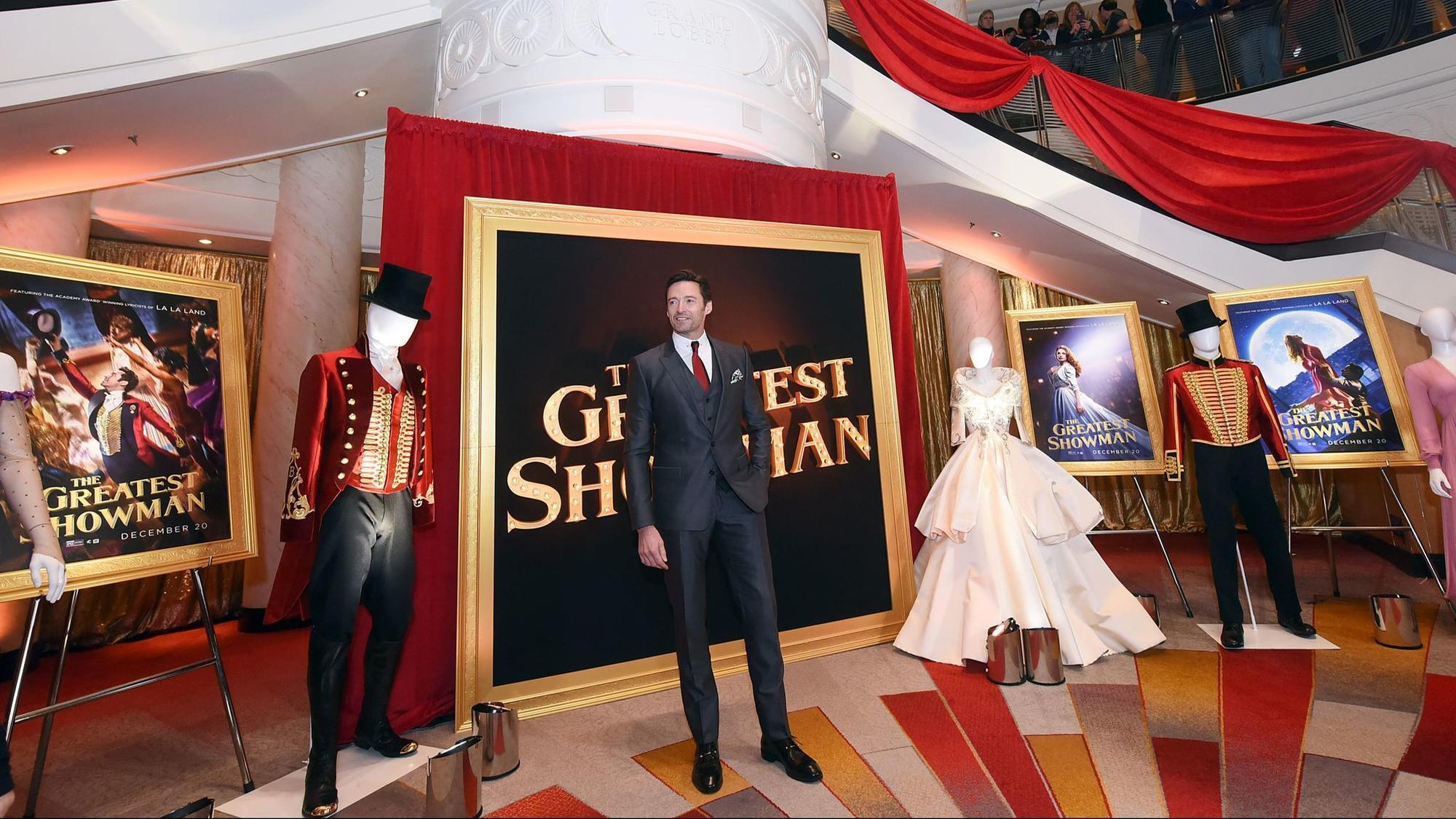 Queen Mary 2 Hosts Film Premiere Of Greatest Showman