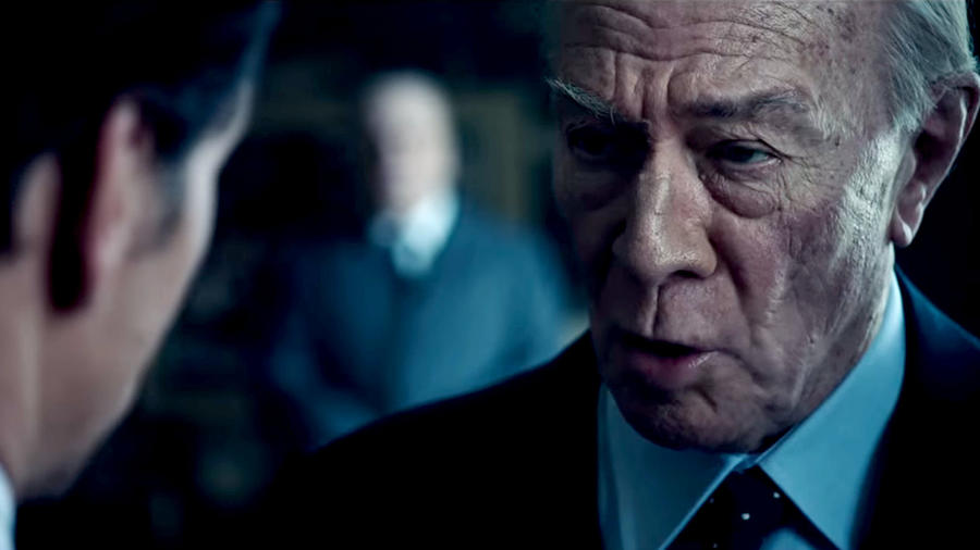 "A screenshot of Christopher Plummer as J. Paul Getty in ""All the Money in the World."" None"