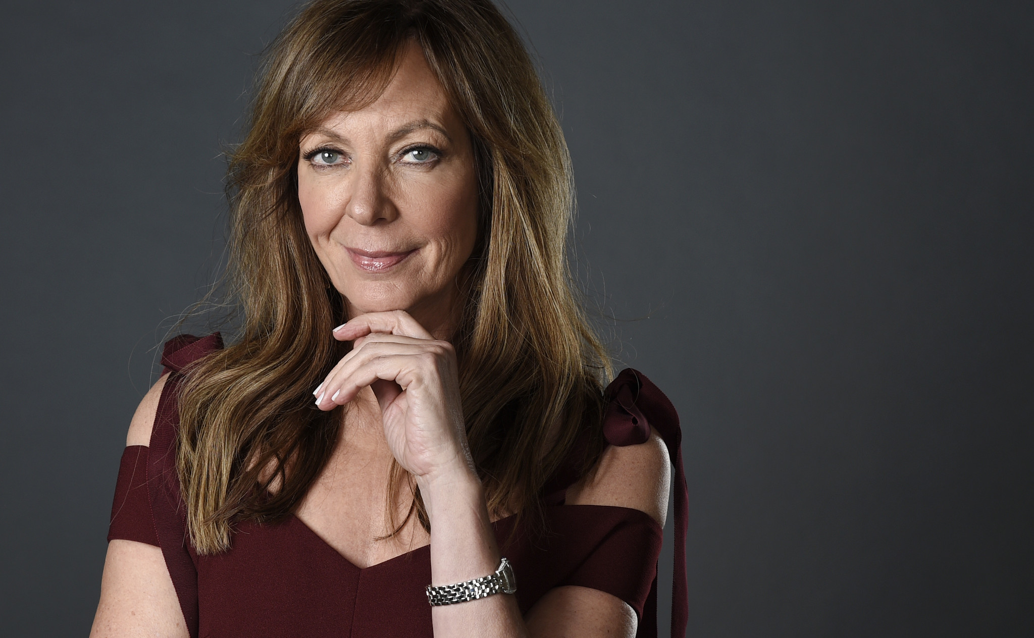 "Allison Janney, who plays LaVona Harding in the Golden Globe-nominated ""I, Tonya,"" is up for best supporting actress. (Chris Pizzello)"