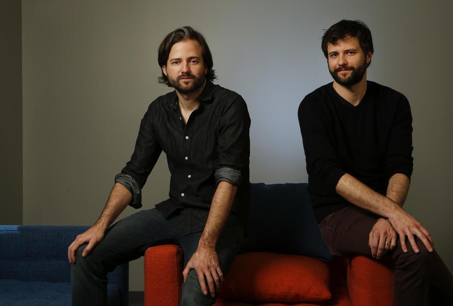 "Brothers Matt Duffer, left, and Ross Duffer created the Netflix series ""Stranger Things."" (Mel Melcon)"