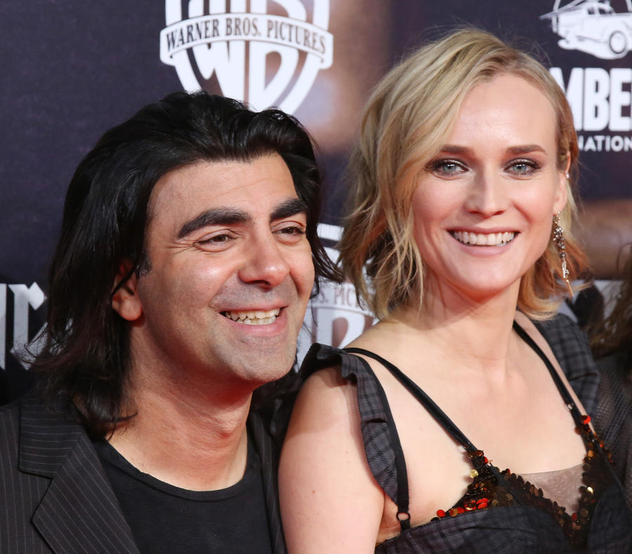 "Director Fatih Akin and actress Diane Kruger at the ""In the Fade"" premiere in Hamburg, Germany, last month. (Focke Strangmann / EPA-EFE / REX / Shutterstock)"