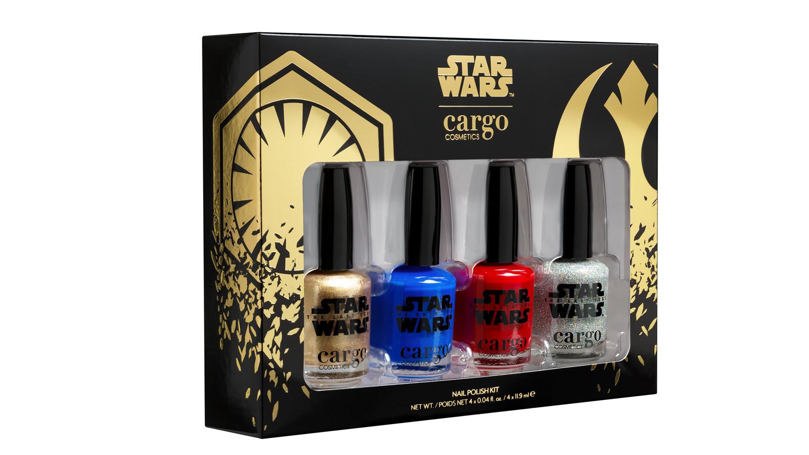 Cargo x Star Wars Episode VIII The Last Jedi Nail Polish Kit
