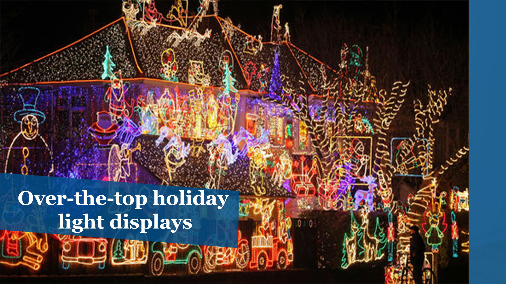 25 Over The Top Holiday Light Displays The Morning Call