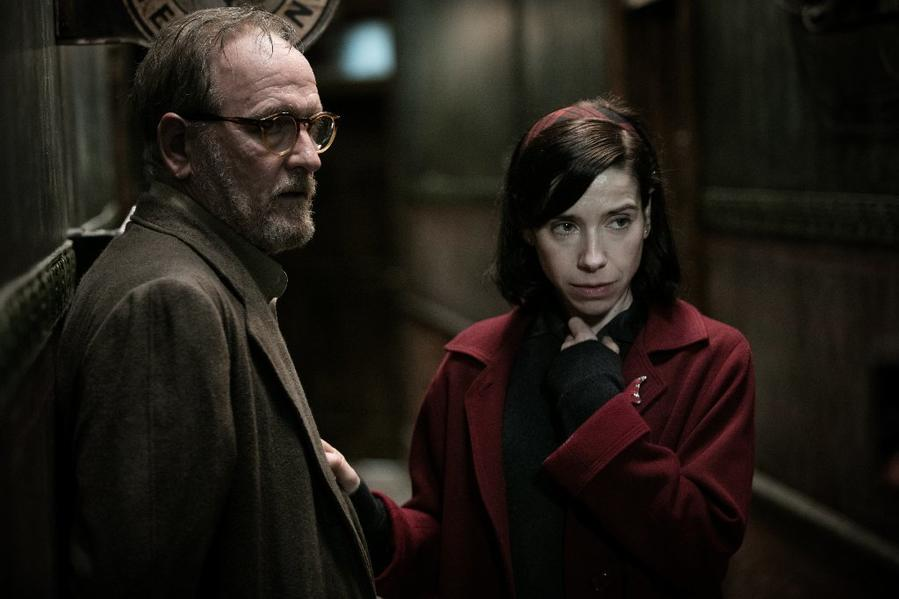 "Richard Jenkins with Sally Hawkins in ""The Shape of Water."" (Kerry Hayes / 20th Century Fox)"