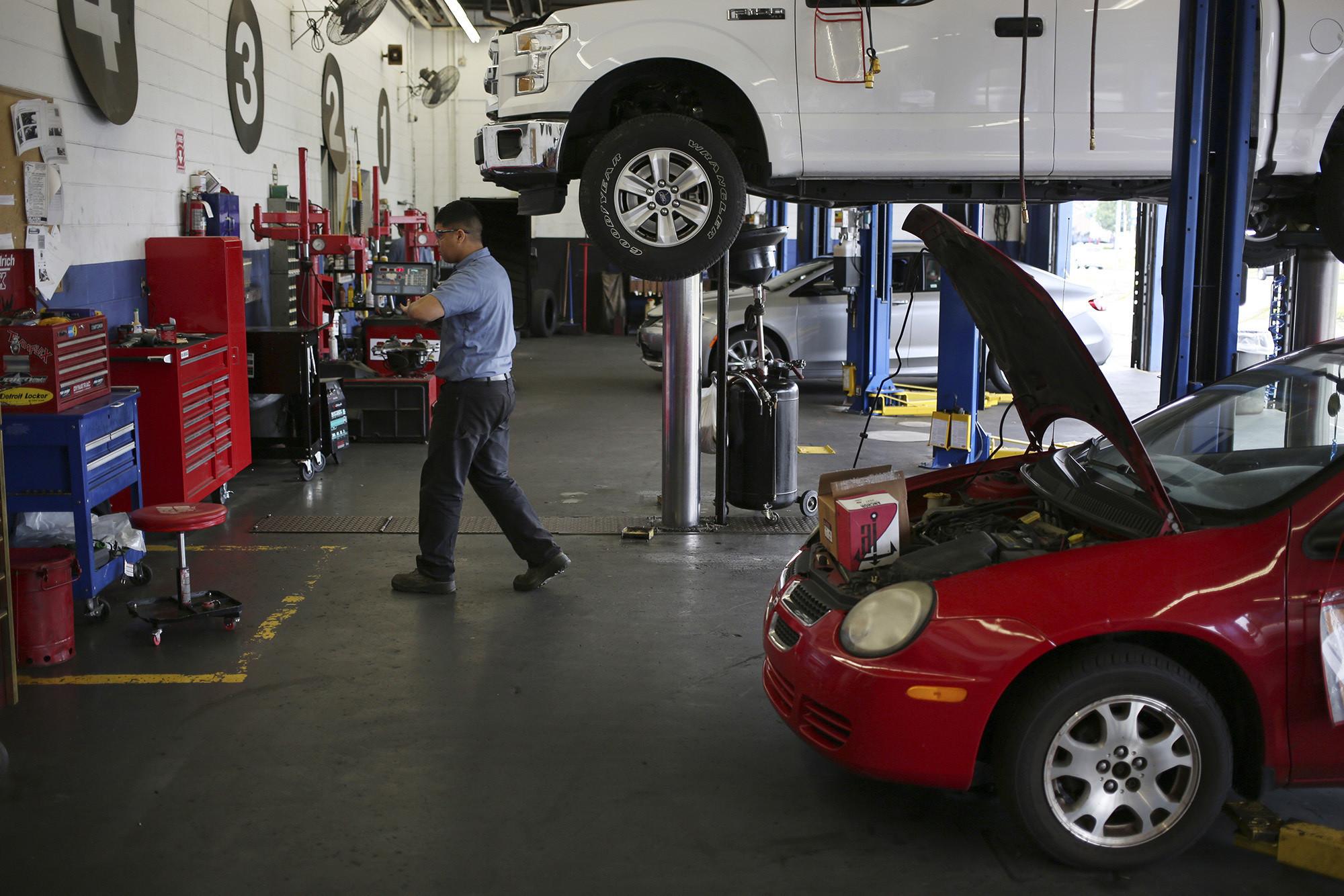 Will electric vehicles doom your neighborhood auto mechanic ...