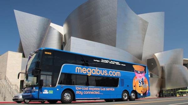 Megabus will give you a free bus ride if your holiday flight gets canceled