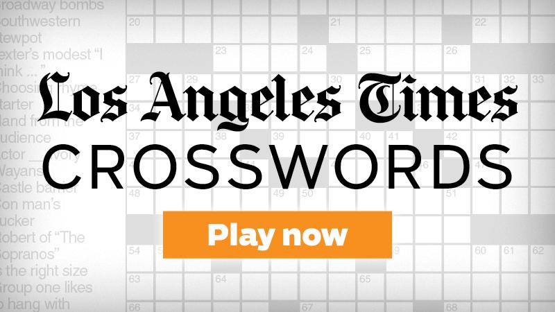 La Times Daily Crossword Chicago Tribune